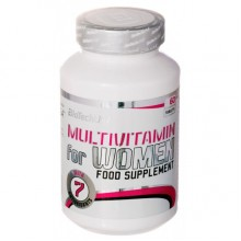 Витамины BioTechUSA Multivitamin for Women 60 tabs